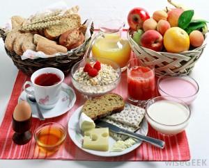 Le petit déjeuner, un repas porteur d'énergie